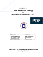 15343190 Market Expansion Strategy of Square Pharmaceuticals Ltd
