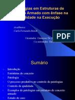 Patologia Estrutura Concreto-Armado Com-Enfase Na Qualidade de-execucao