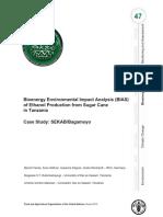 EIA Tanzania Ethanol Production