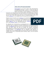 Análisis de Los Microprocesadores