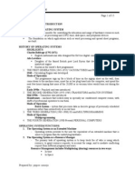 Opearting System Handouts