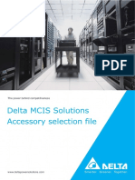 DELTA ENERGY SYSTEMS Catalogo Soluciones Folleto General MCIS Accesorios