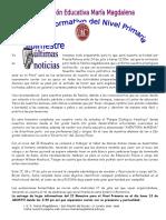 Boletin Primaria 2013 II Bimestre