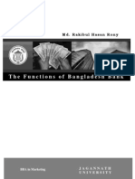 The Functions of Bangladesh Bank