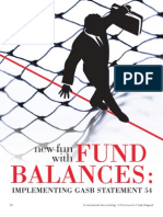 New Fun With Fund Balances -- Implementing GASB 54