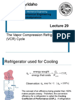 L29 - Vapor Compression Refrigeration.pptx