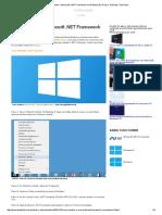 Como Instalar o Microsoft Framework35