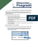 DP-Indicaciones Para Maestrantes