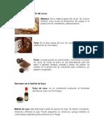 Derivados de La Semilla Del Cacao