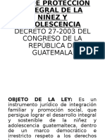 Adolescentes en Conflicto con la Ley Penal Guatemala, Marcelino Ajpacajá