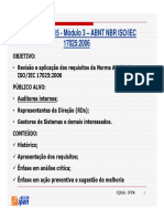 Treinamento 2015 - Módulo 3 – ABNT NBR ISO/IEC 17025:2006