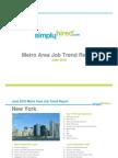 June 2010 Metro Area Job Trends Report