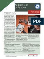 Sistema Calibracion Audiometros - b&k