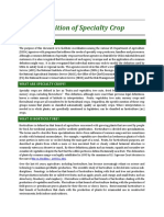 Usda Specialty Crop Definition