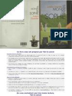 Gaarder, Jostein - Le Monde de Sophie.pdf