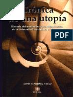 CRONICA DE UNA UTOPIA (UNIVERSIDAD AUTONOMA DE COAHUILA)