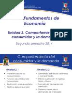 Unidad 2 Fundamentos de Econom a Primavera 2014