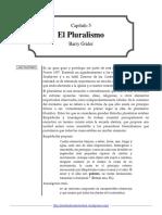 6 El Pluralismo