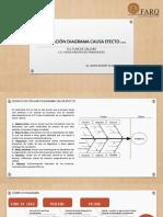Elaboración de Diagrama Causa-efeecto