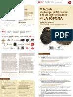 2017 v Jornada Tòfona 18 Març Díptic