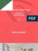 Airbnb Digital Tourism
