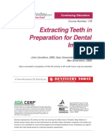 Extracting Teeth In