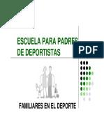 Escuela Padres de Deportistas