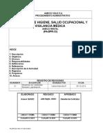 PA-DPR-23 Programa Higiene y Salud Ocupacional 2014 Ameco Rental
