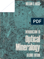 Introduction to Optical Mineralogy -Nesse