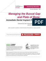 Managing the Buccal Gap