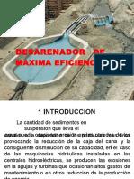 Diapositivas desarenador diseños