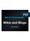 Wikis -Blogs Intership Project
