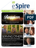 The Spire Newsletter, March 28, 2017
