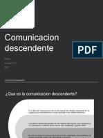 Comunicacion descendente