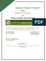 103882954-Study-of-Indian-Stock-Market.docx