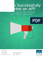 How to Market an API