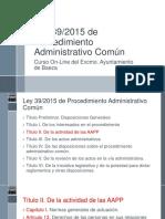 Ley 39-2015 Titulo II