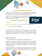 Guía Para El Uso de Recurso Educativo