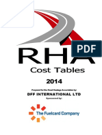 Cost Tables 2014 Edition