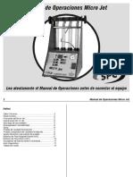 Micro Jet Manual