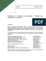 NCh02034-1999 Metodo Insoluble en N-heptano