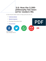 filosofia terapeutica