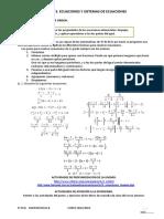 T3_Ecuaciones y Sistemas de Ecuaciones