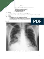 Pulmonary Metastasis and Pneumonia