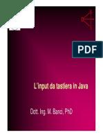 Input Da Tastiera in Java