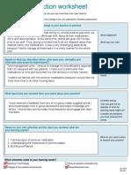 nurs208 qa practice reflection worksheet 1