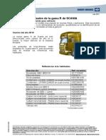 Knorr-bremse Ref Habituales Gama r de Scania