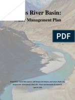 Indus River Basin Water Management Plan