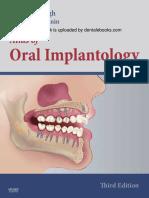 Atlas of Oral Implantology - E-Book Version to b(1)
