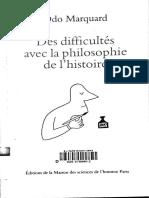 Odo Marquard - des difficultés avec de la philosophie de l'histoire.pdf